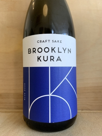 Brooklyn Kura, Blue Door Junmai Namazake 375ml
