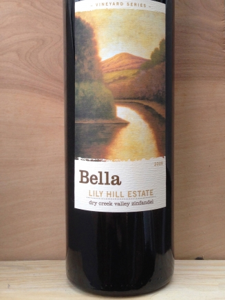 Bella Vineyards Lily Hill Estate Zinfandel