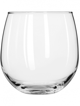 Stemless Red Wine Glasses