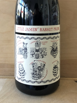Little James' Basket Press Red
