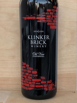 Klinker Brick Winery, Zinfandel Old Vine