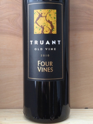 "Four Vines Winery Zinfandel ""Truant"" Old Vines"